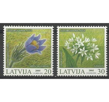 Znaczek Łotwa 2005 Mi 631-632 Czyste **