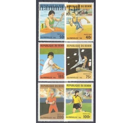 Znaczek Benin 1996 Mi 817-822 Czyste **