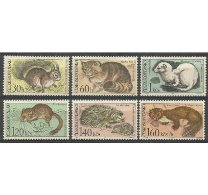 Znaczek Czechosłowacja 1967 Mi 1731-1736 Czyste **