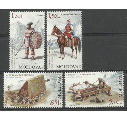 Znaczek Mołdawia 2012 Mi 795-798 Czyste **