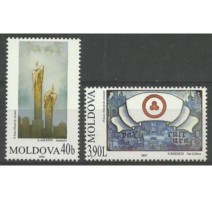 Znaczek Mołdawia 2003 Mi 472-473 Czyste **