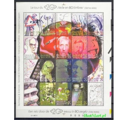 Znaczek Belgia 2001 Mi ark 3074-3093 Czyste **