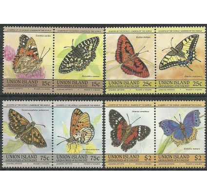 Znaczek Union Islands 1985 Mi 94-101 Czyste **
