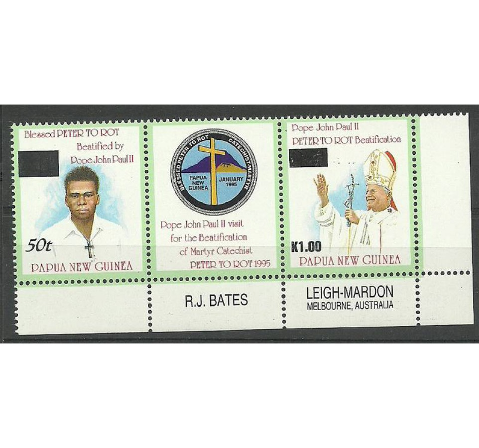 Papua Nowa Gwinea 2001 Mi 905+742 Czyste **