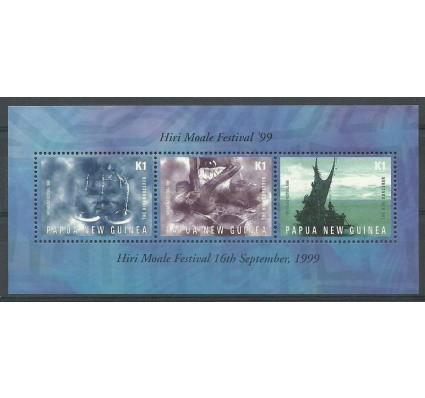 Znaczek Papua Nowa Gwinea 1999 Mi bl 16 Czyste **