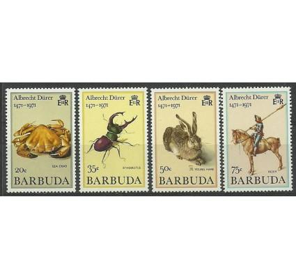 Znaczek Barbuda 1972 Mi I-IV Czyste **
