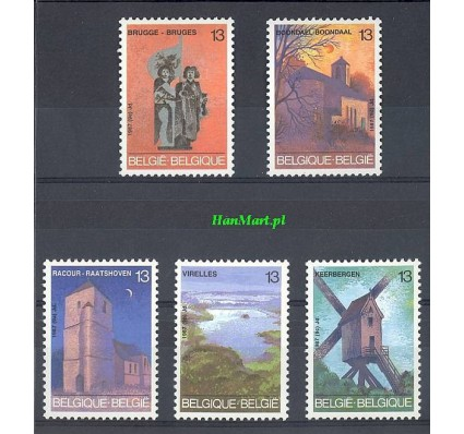 Znaczek Belgia 1987 Mi 2306-2310 Czyste **