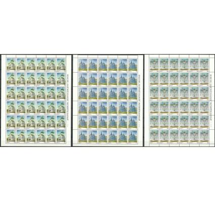 Znaczek Białoruś 2000 Mi ark 342-344 Czyste **