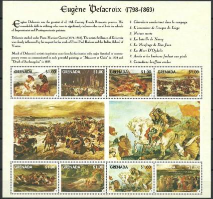 Znaczek Grenada 1998 Mi ark 3763-3770 Czyste **