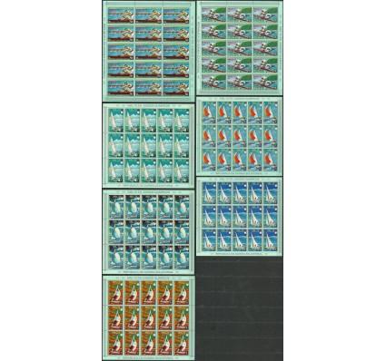 Znaczek Gwinea Równikowa 1972 Mi ark 98-104 Czyste **