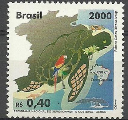 Znaczek Brazylia 2000 Mi 3028 Czyste **