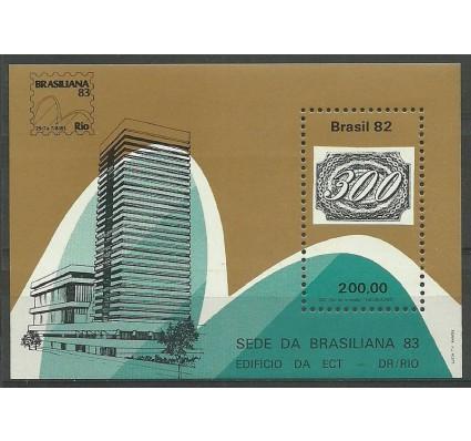 Znaczek Brazylia 1982 Mi bl 53 Czyste **