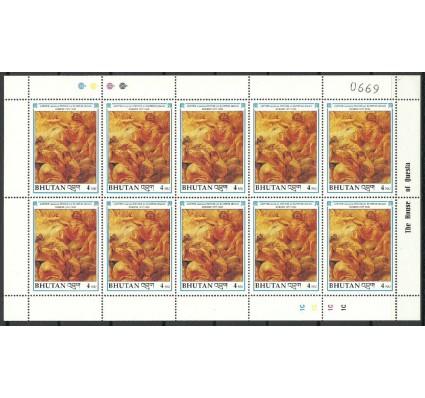Znaczek Bhutan 1991 Mi ark 1413 Czyste **