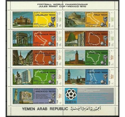 Znaczek Jemen Północny 1970 Mi ark 1088-1096 Czyste **