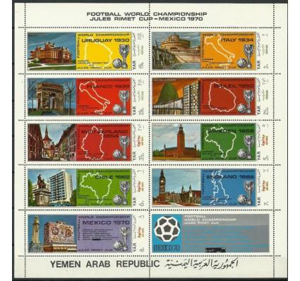Znaczek Jemen Północny 1970 Mi ark 1088-1096a Czyste **