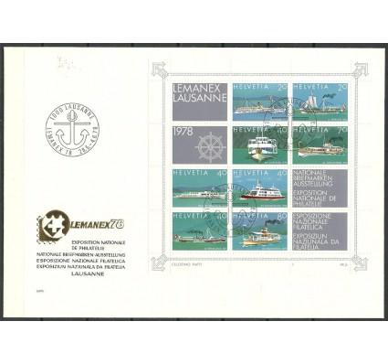 Znaczek Szwajcaria 1978 Mi bl 23 FDC