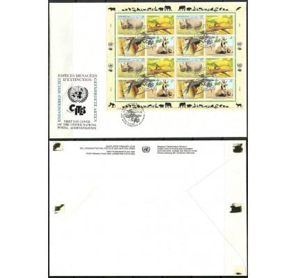 Znaczek Narody Zjednoczone Wiedeń 1995 Mi ark 180-183 FDC