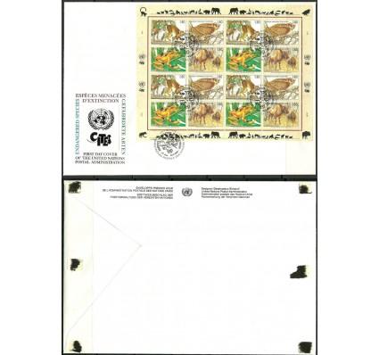 Znaczek Narody Zjednoczone Genewa 1995 Mi ark 263-266 FDC
