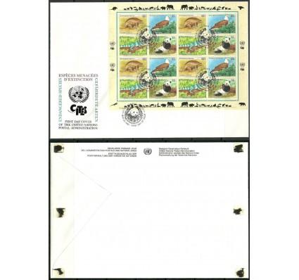 Znaczek Narody Zjednoczone Nowy Jork 1995 Mi ark 681-684 FDC