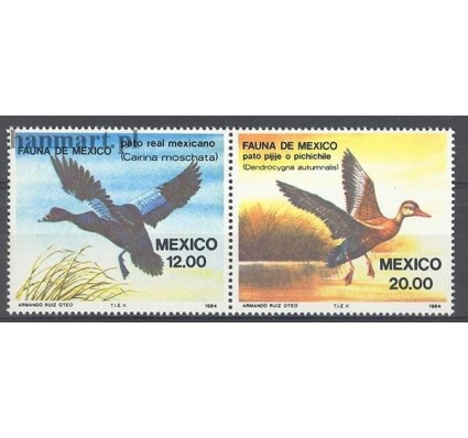 Meksyk 1984 Mi 1893-1894 Czyste **