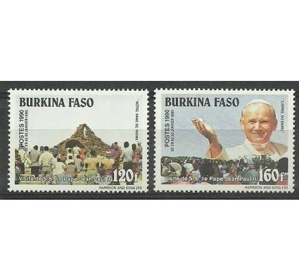 Znaczek Burkina Faso 1990 Mi 1222-1223 Czyste **
