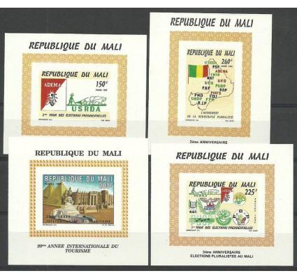 Znaczek Mali 1995 Mi einbl 1347-1350B Czyste **
