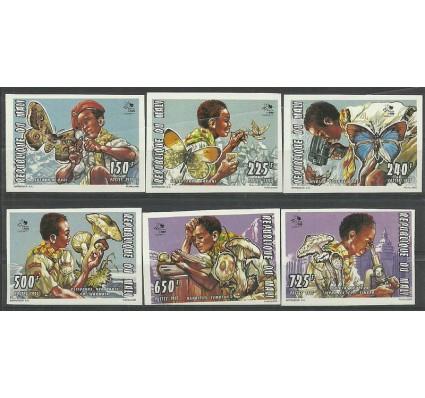 Znaczek Mali 1995 Mi 1351-1356B Czyste **