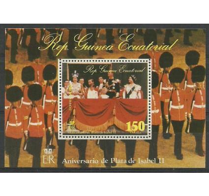 Znaczek Gwinea Równikowa 1977 Mi bl 256 Czyste **