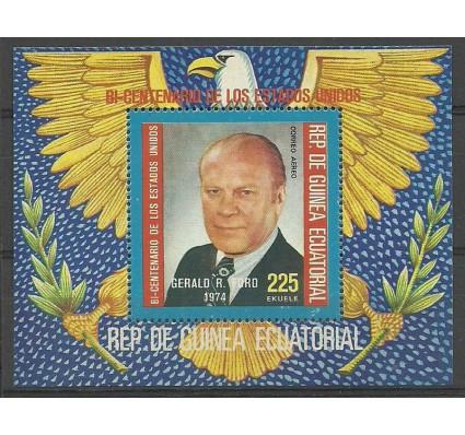 Znaczek Gwinea Równikowa 1975 Mi bl 175 Czyste **