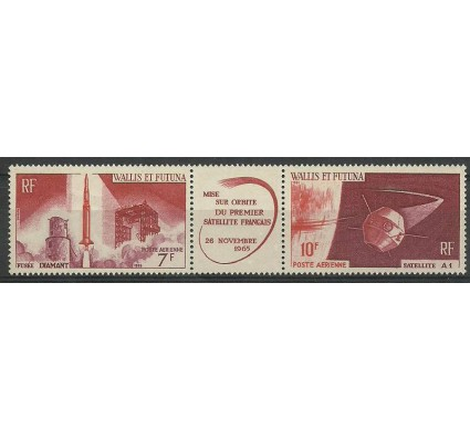 Znaczek Wallis et Futuna 1966 Mi 209-210 Z podlepką *