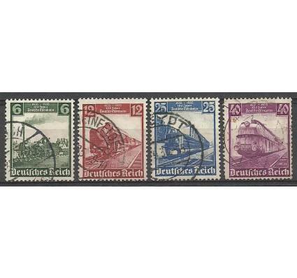 Znaczek Deutsches Reich / III Rzesza 1935 Mi 580-583 Stemplowane