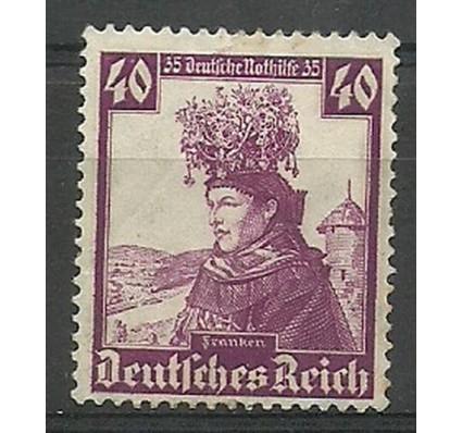 Znaczek Deutsches Reich / III Rzesza 1935 Mi 597 Czyste **