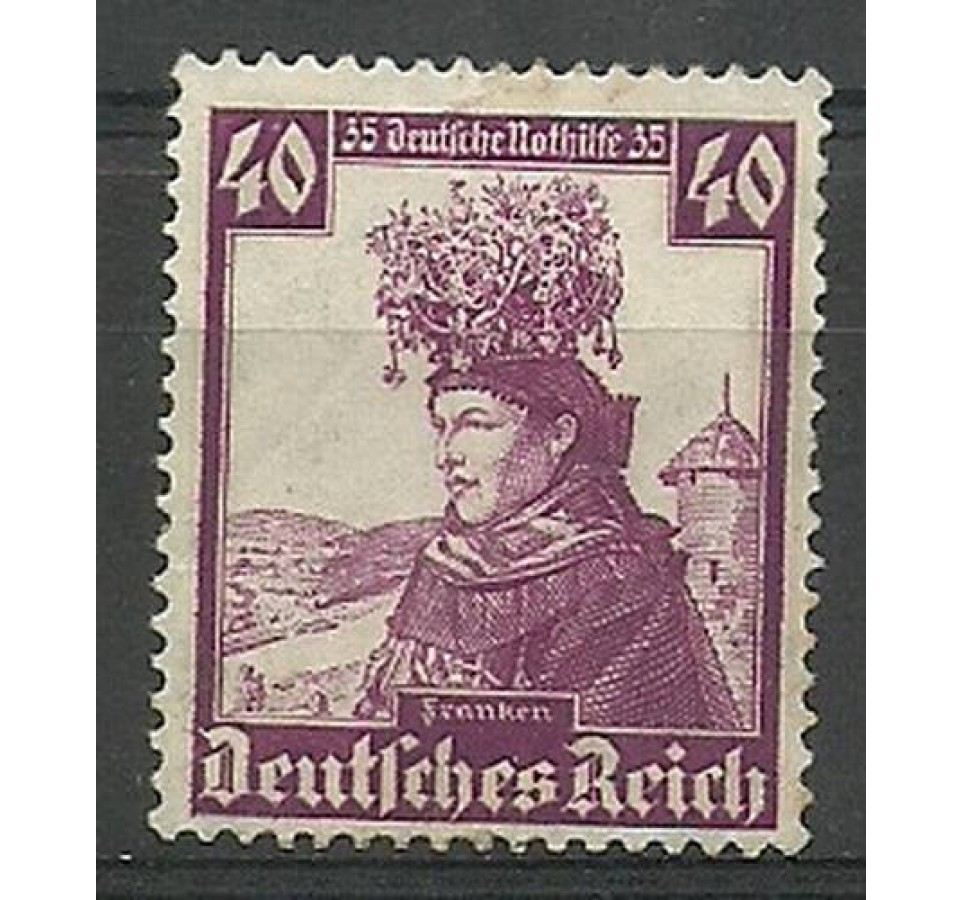 Deutsches Reich / III Rzesza 1935 Mi 597 Czyste **