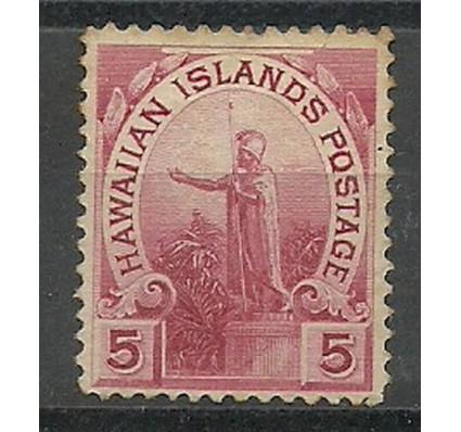 Znaczek Hawaje 1894 Mi 59 Z podlepką *