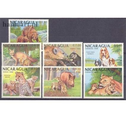 Znaczek Nikaragua 1988 Mi 2871-2877 Czyste **