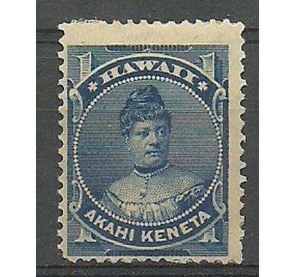 Znaczek Hawaje 1882 Mi 24 Z podlepką *