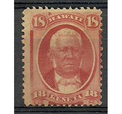 Znaczek Hawaje 1871 Mi 23 Z podlepką *