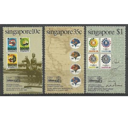 Znaczek Singapur 1983 Mi 429-431y Czyste **