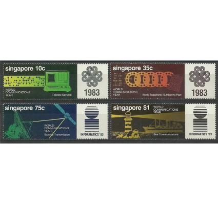 Znaczek Singapur 1983 Mi 436-439 Czyste **