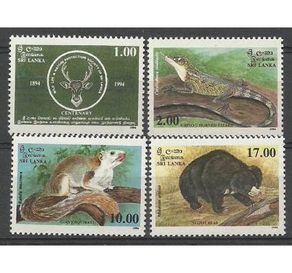 Znaczek Sri Lanka 1994 Mi 1063-1066 Czyste **