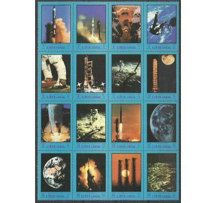 Znaczek Ajman / Adżman 1970 Mi 593-608 Czyste **
