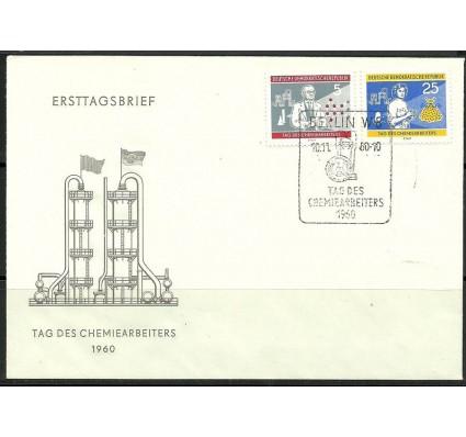 Znaczek NRD / DDR 1960 Mi 800+803 FDC