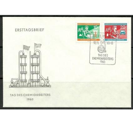 Znaczek NRD / DDR 1960 Mi 801-802 FDC