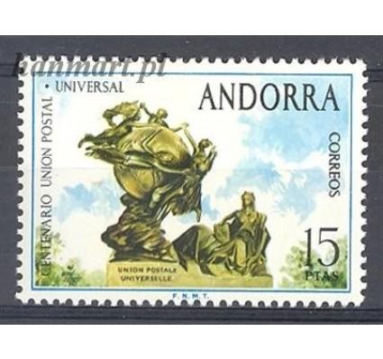Andora Hiszpańska 1974 Mi 92 Czyste **