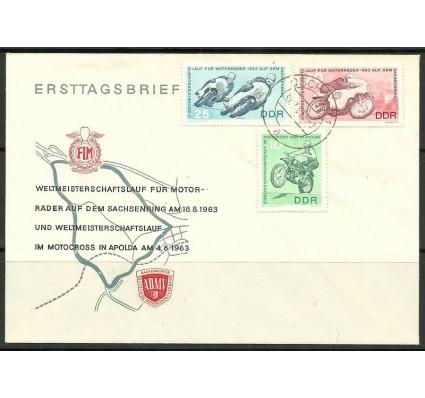 Znaczek NRD / DDR 1963 Mi 972-974 FDC