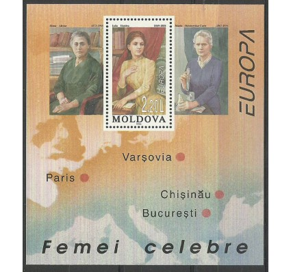 Znaczek Mołdawia 1996 Mi bl 9 Czyste **