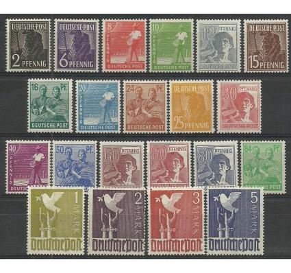 Znaczek Niemcy 1947 Mi 943-962 Czyste **