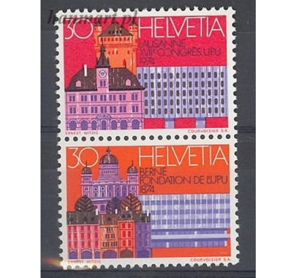 Znaczek Szwajcaria 1974 Mi 1027-1028 Czyste **