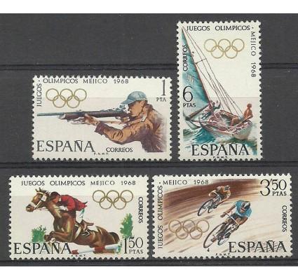 Znaczek Hiszpania 1968 Mi 1777-1780 Czyste **