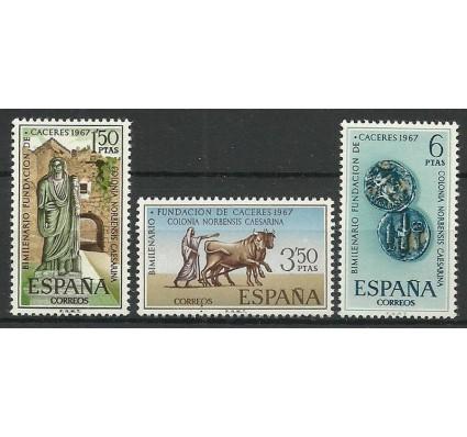 Znaczek Hiszpania 1967 Mi 1720-1722 Czyste **